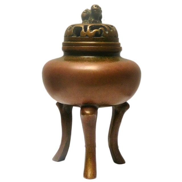 Chinese Handmade Bronze Incense Burn - Image 1 of 5