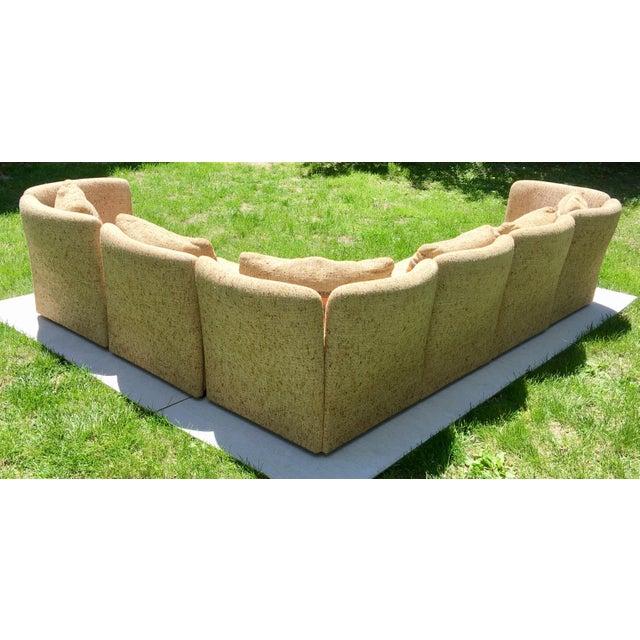 Mid Century Scandinavian Modular Sofa Sectional - Image 3 of 10