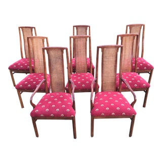 1970s Drexel Heritage Dining Chairs - Set of 8 For Sale