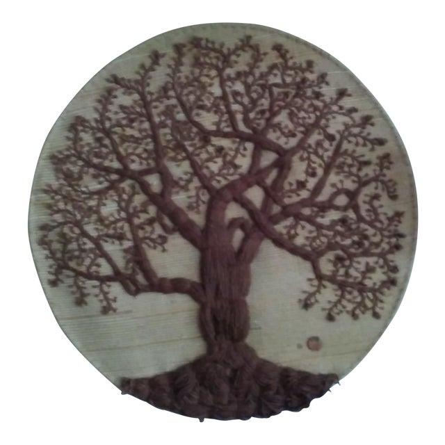 'Tree of Life' Textile Art - Image 1 of 4