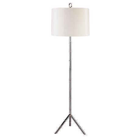 Jonathan Adler Meurice Silver Floor Lamp - Image 1 of 2
