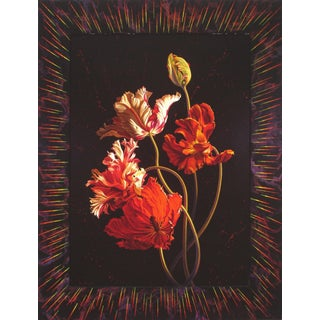 Ian Hornak Tulips of the Red Stars 1988 For Sale
