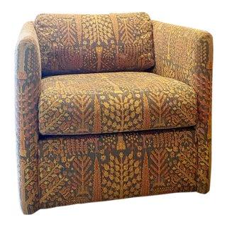 Vintage Dunbar Cube Chair For Sale