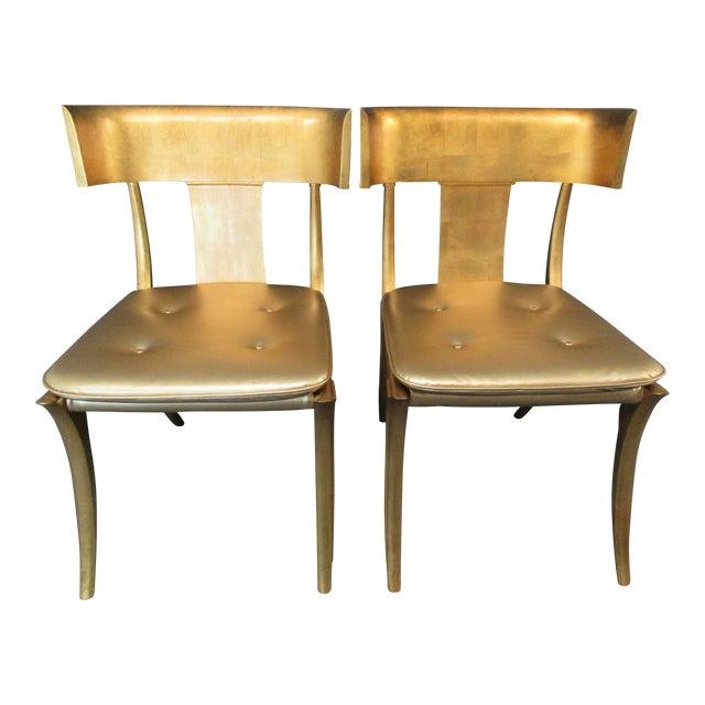 Vintage Mid-Century Modern Klismos Chairs- a Pair For Sale