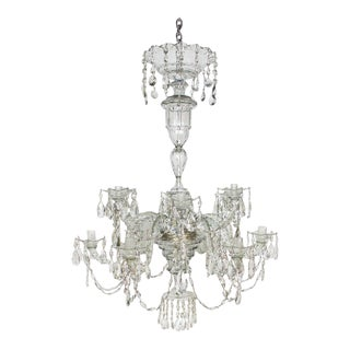 Mid to Late 18th Century Crystal Chandelier For Sale