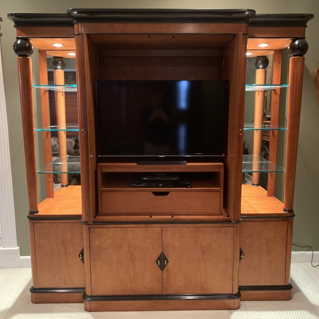 National Mount Airy Biedermeier Tv Armoire For Sale In Saint Louis - Image 6 of 7