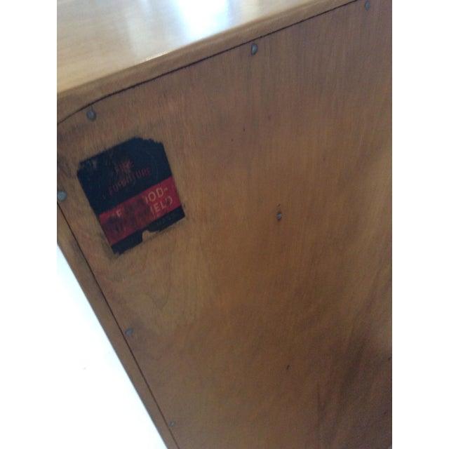 1940s 1940s Heywood Wakefield Mid-Century Modern Crescendo Highboy Dresser For Sale - Image 5 of 10