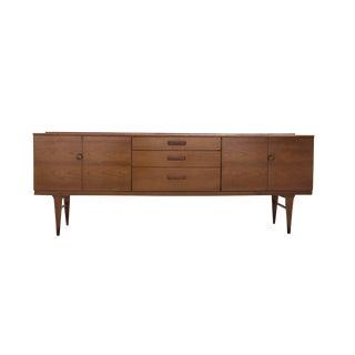 1960s Danish Modern Teak Sideboard Credenza