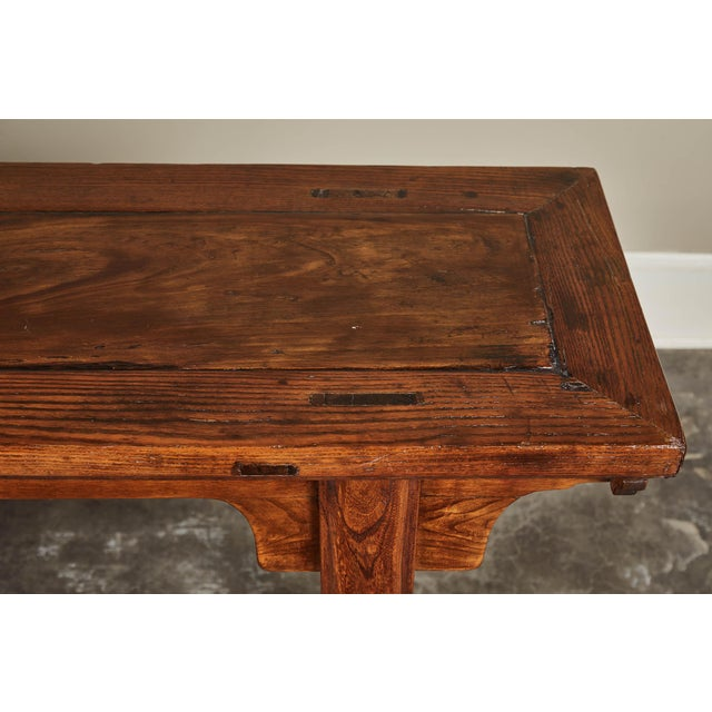 19th C. Chinese Ming Style Altar Table For Sale - Image 9 of 10