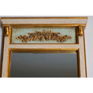 Vintage Hand Carved Trumeau Mirror by Dauphine Preview