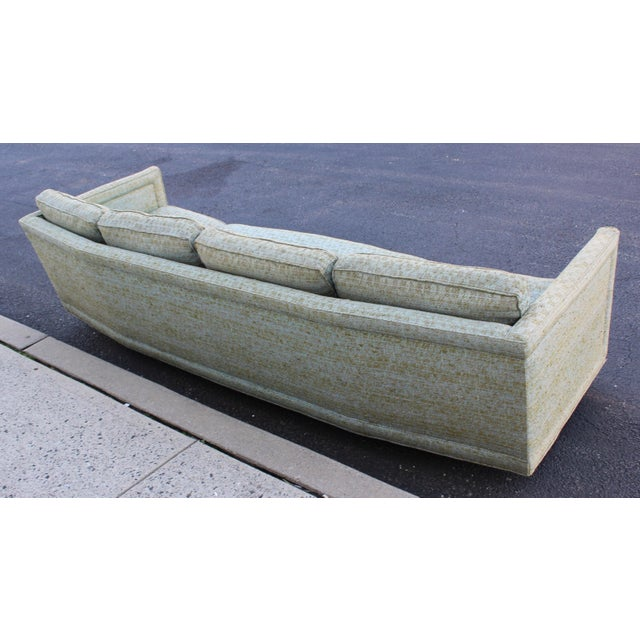 John Stuart Erwin Lambeth Curved Sofa For Sale - Image 4 of 8