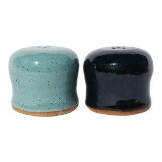 Vintage Ceramic Studio Pottery Salt & Pepper Shakers For Sale