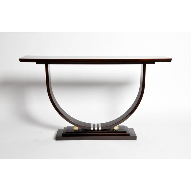 Mid-Century Modern Mid-Century Style Side Console For Sale - Image 3 of 11