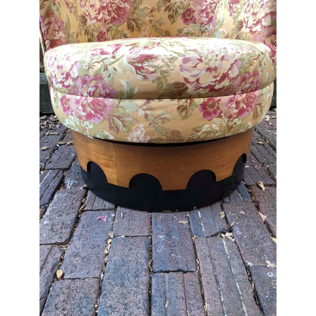 1960s Adrian Pearsall High Back Spanish Style Chair For Sale - Image 6 of 8