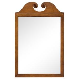 Scrolled Pediment Mirror