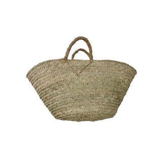 'To Market' Woven Basket For Sale