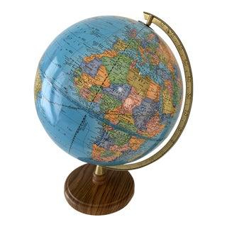 Vintage Cram's Imperial Terrestrial Globe For Sale