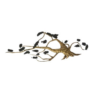 Mid-Century Modern C. Jere Tree Wall Sculpture For Sale