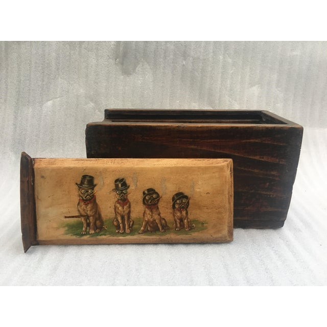 Antique Wooden Mystery Box For Sale - Image 11 of 11