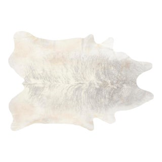 Silver Brindle Genuine Brazilian Cowhide