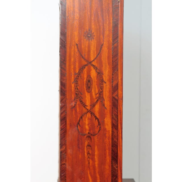 George III Satinwood and Inlaid Bookcase Attributed to Gillows For Sale - Image 10 of 13