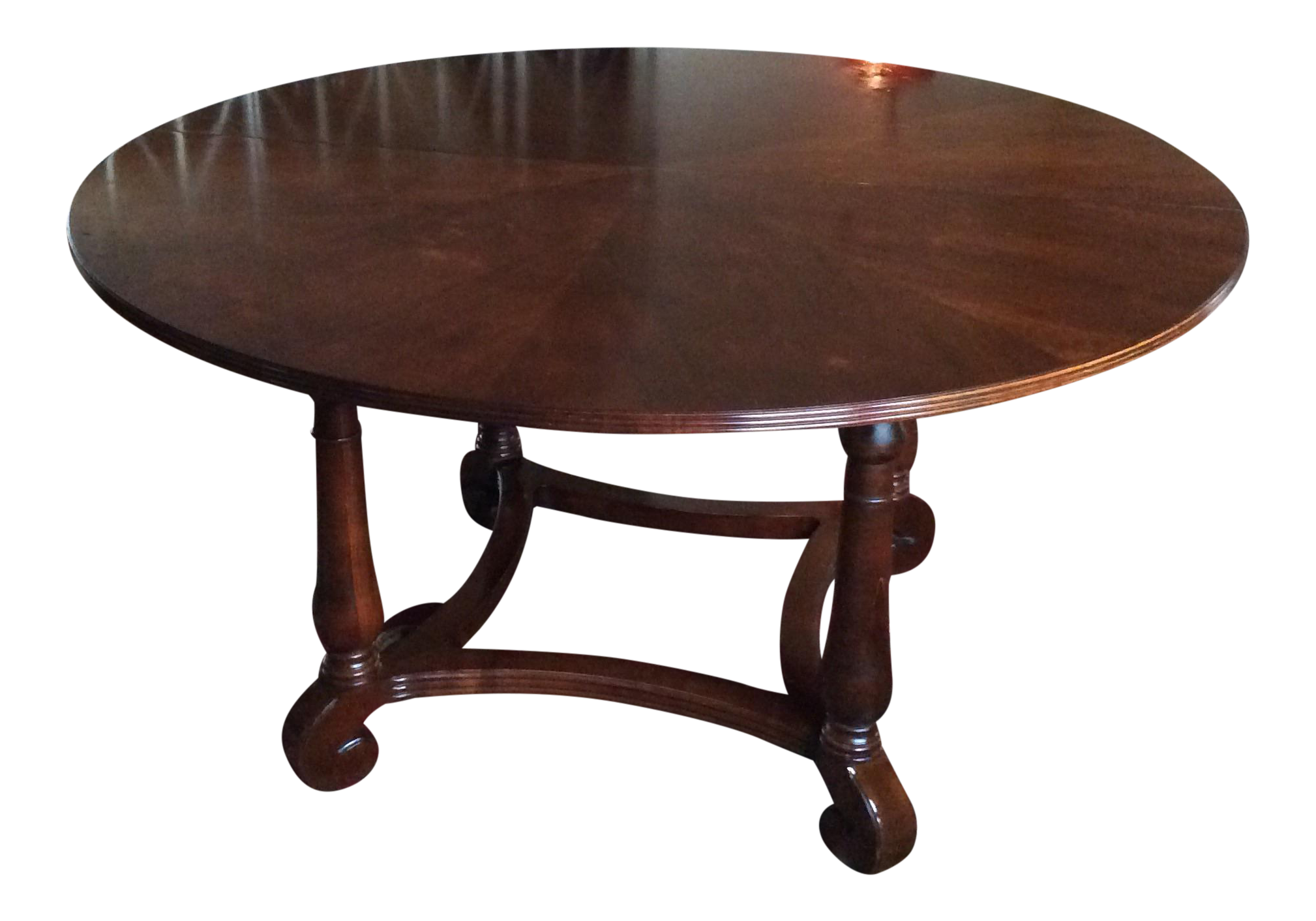 Ethan Allen British Classics Round Dining Table 29 6404