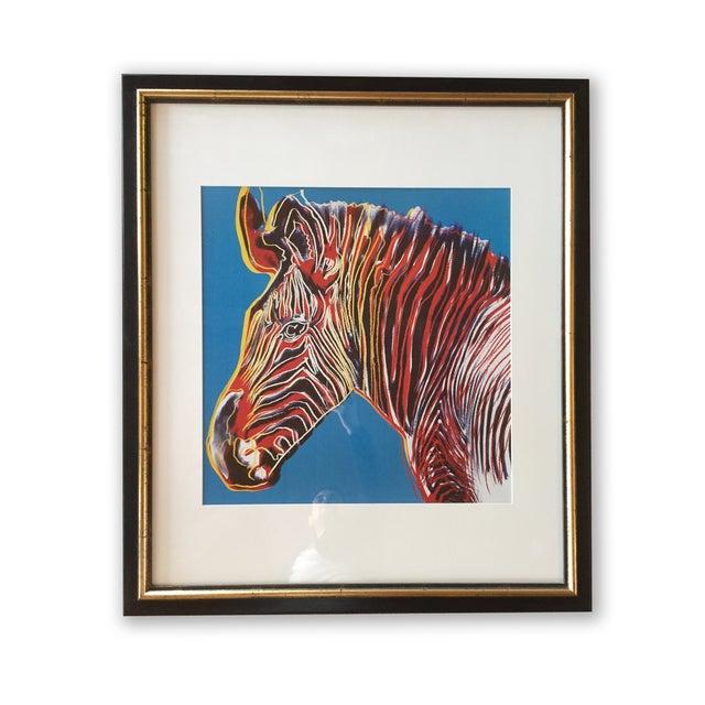 Pop Art Style Zebra Print - Image 3 of 3