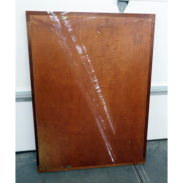 Mid 20th Century Kindel Furniture Belvedere Regency Style Wall Mirror For Sale - Image 5 of 7