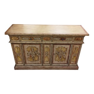 Century Painted Wood Buffet/Console For Sale