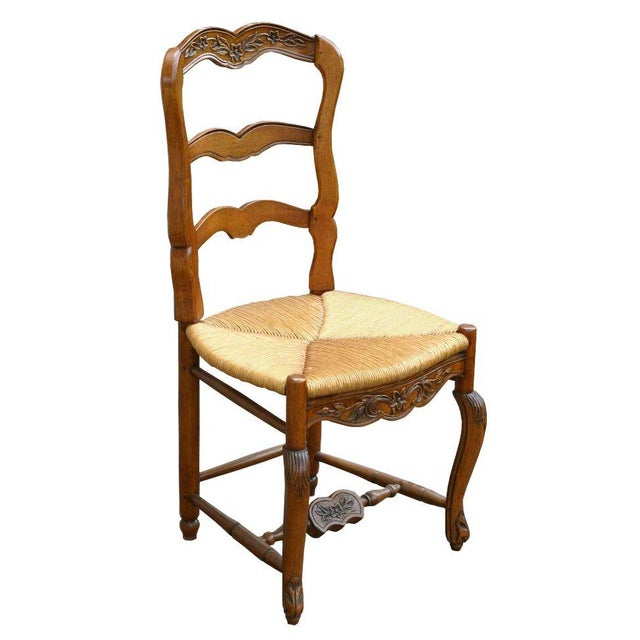 Pierre Deux French Country Dining Chairs - 6 For Sale - Image 11 of 11