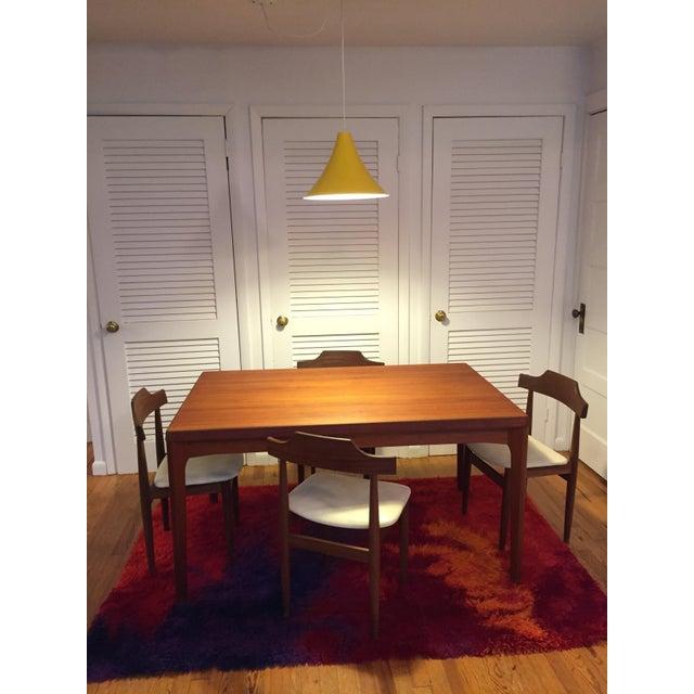 Vintage 1960s Hans Olsen for Frem Rojle Danish Modern Dining Chairs - Set of 4 For Sale - Image 10 of 12