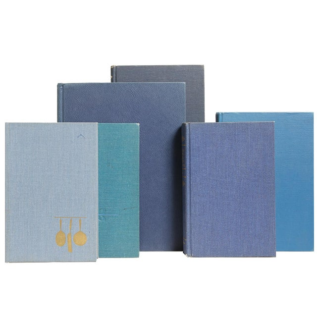 Cuisine In Shades of Blue - Set of 15 - Image 2 of 2