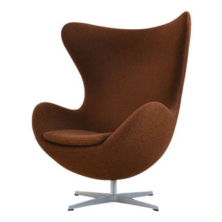 Arne Jacobsen Egg Chair by Fritz Hansen in Divina Melange