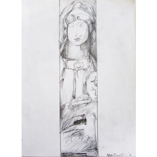 """""""Mater Christi"""" Religious Drawing For Sale"""