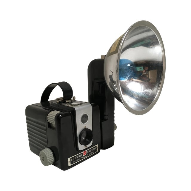 Kodak Hawkeye Brownie Camera With Flash For Sale