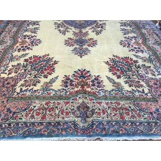 Antique Persian Kerman Large Rug - 9′8″ × 18′3″ Preview