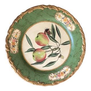 Raymond Waites Decorative Painted Plate For Sale