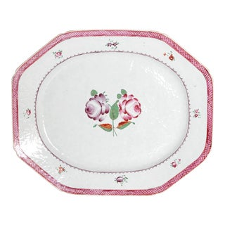 CHINESE EXPORT PORCELAIN PLATTER For Sale