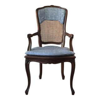 French Country Arm Chair For Sale