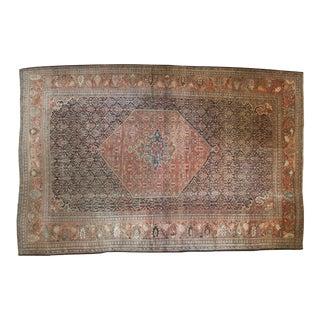 "Antique Farahan Farouk Carpet - 11'2"" X 17'3"""