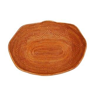 Oval Bread Basket Handmade For Sale