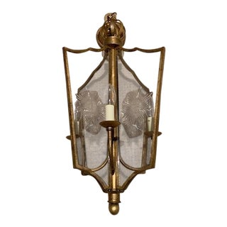 Neoclassical Pendant Light For Sale