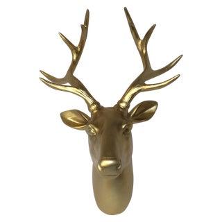Gold Glam Deerhead