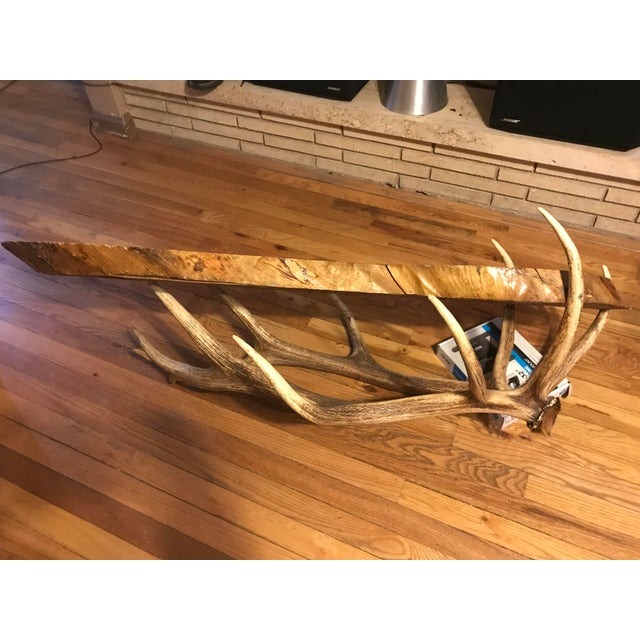 1990s Vintage Handmade Coffee Table For Sale - Image 5 of 10