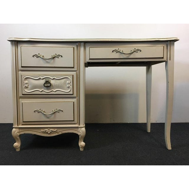 Reimagine and repurpose this fabulous, Shabby Chic Style, Vintage Desk! Think craft center for a little girl or a dressing...