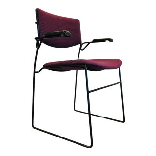 Late 20th Century Vintage Icf Iron Chair For Sale
