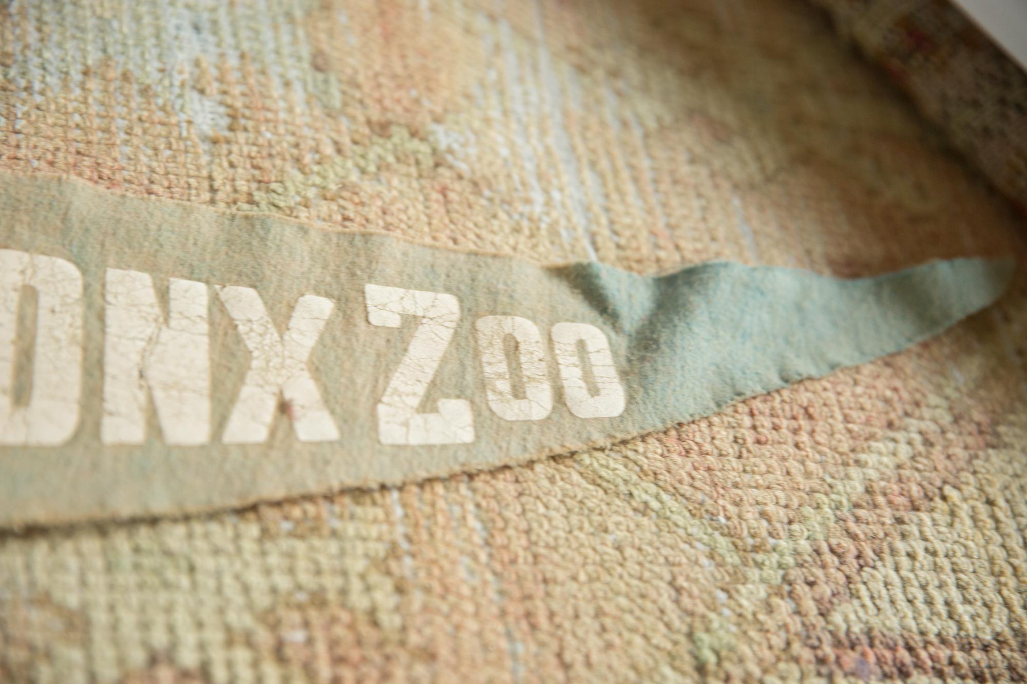 Vintage Pennant Bronx Zoo