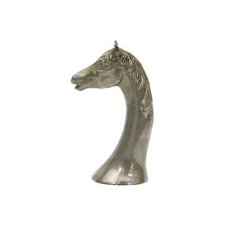 Antique French Horse Head Bottle Opener For Sale