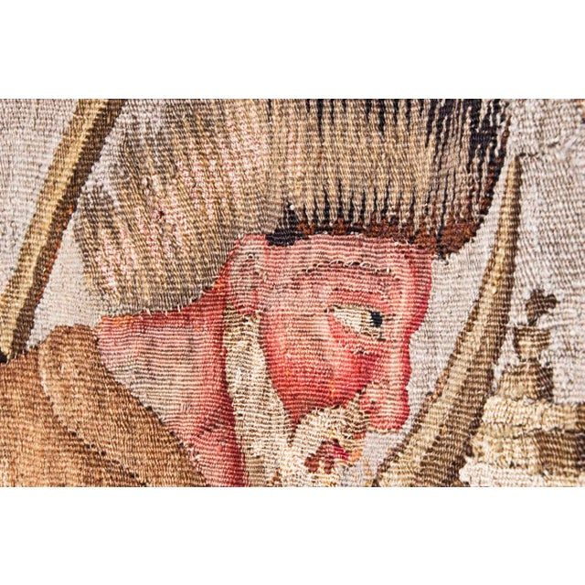 Early 18th Century Flemish Tapestry of Caesar returning to Rome For Sale - Image 5 of 9