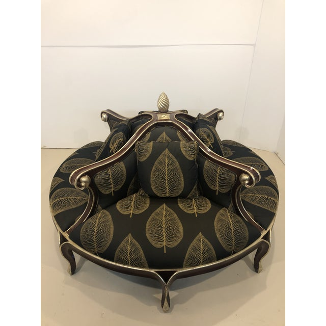 Late 20th Century Christopher Guy Louis XV Style Confidante Sofa For Sale - Image 10 of 10